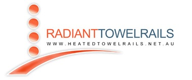 Radiant towel rails logo